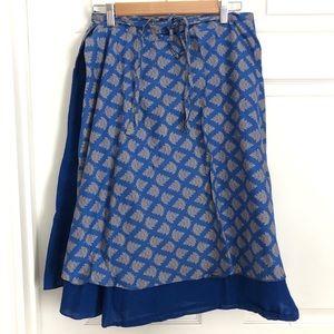 ASHA Wrap Skirt Cotton Skirt